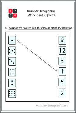 Recognizing Numbers To 20