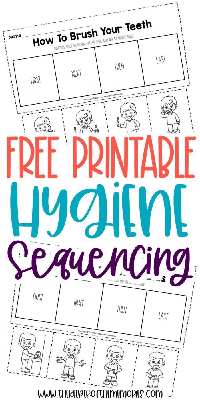 Free Printable Preschool Sequencing Worksheets