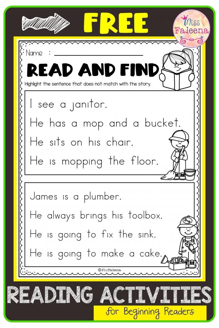 Free Reading Activities