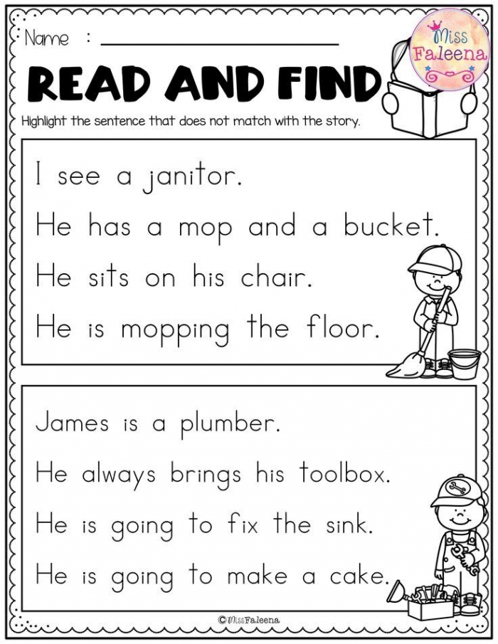 Free Reading Activities Contains  Pages Of Reading Activities