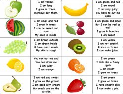 Fruit Riddles