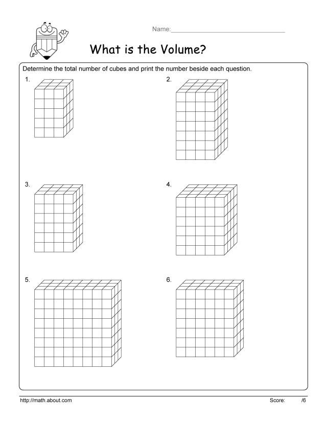 Geometry Finding The Area Of A Cube