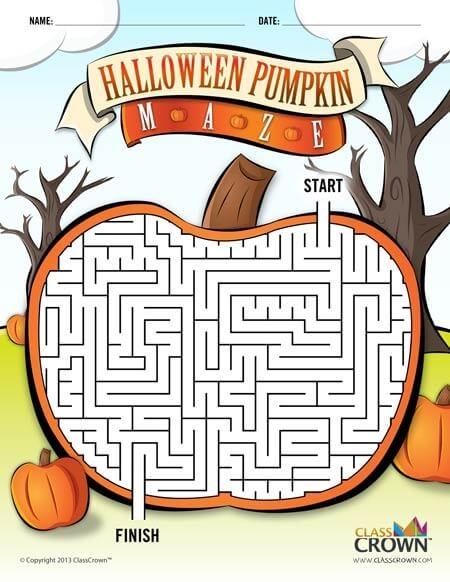 Halloween Pumpkin Maze