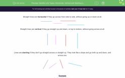 Vertical Lines: Drawing Downward