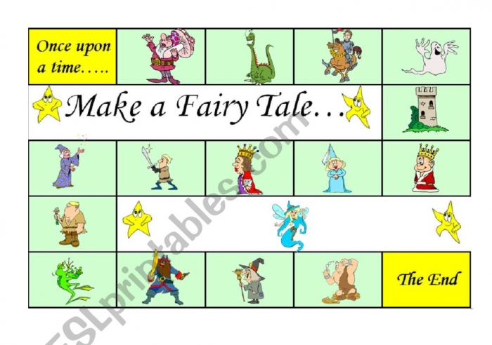 Make A Fairy Tale Board Gamea Fun Way To Practise Story Telling