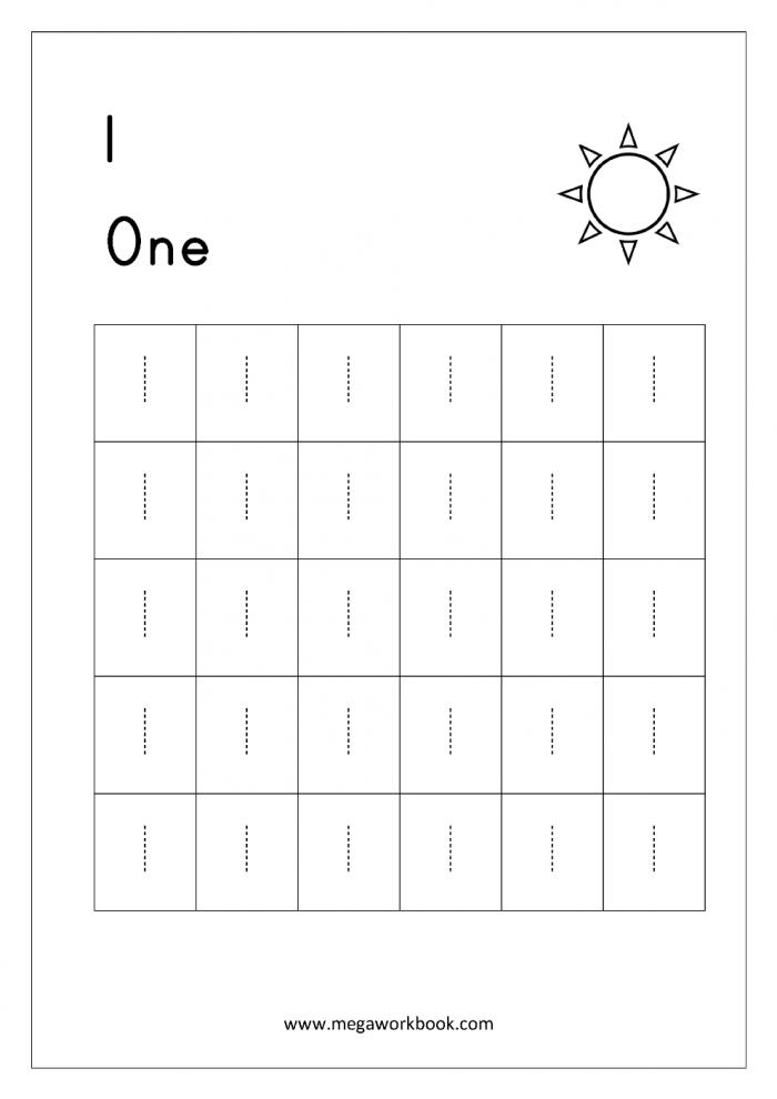 Math Worksheet  Free Printing Worksheets Forrgarten Number