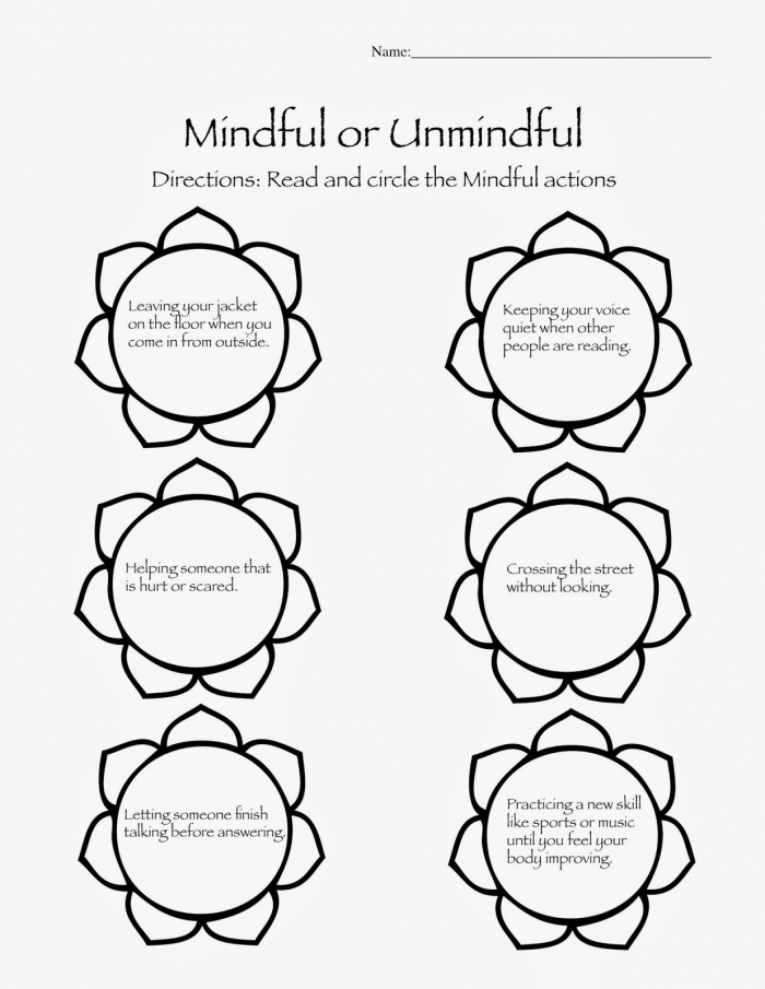 Mindfulness Games  Worksheets And Activities For Kids