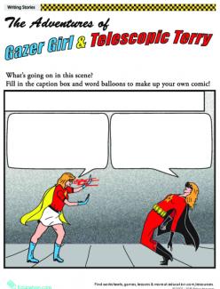 Comic Book Writing: Superhero Showdown