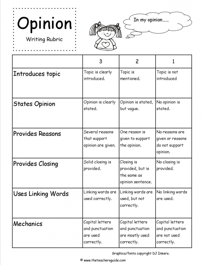 Opinion Writing Prompts Rubric Do You Love Writing Fanfiction Or