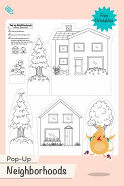 Pop-Up Neighborhoods: Houses And Trees
