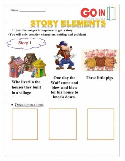 Sort The Story Elements