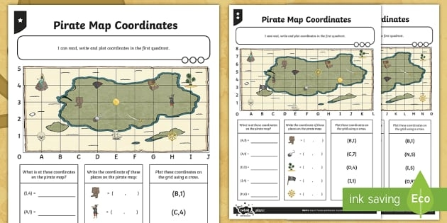 Teaching Map Coordinates To Elementary Students