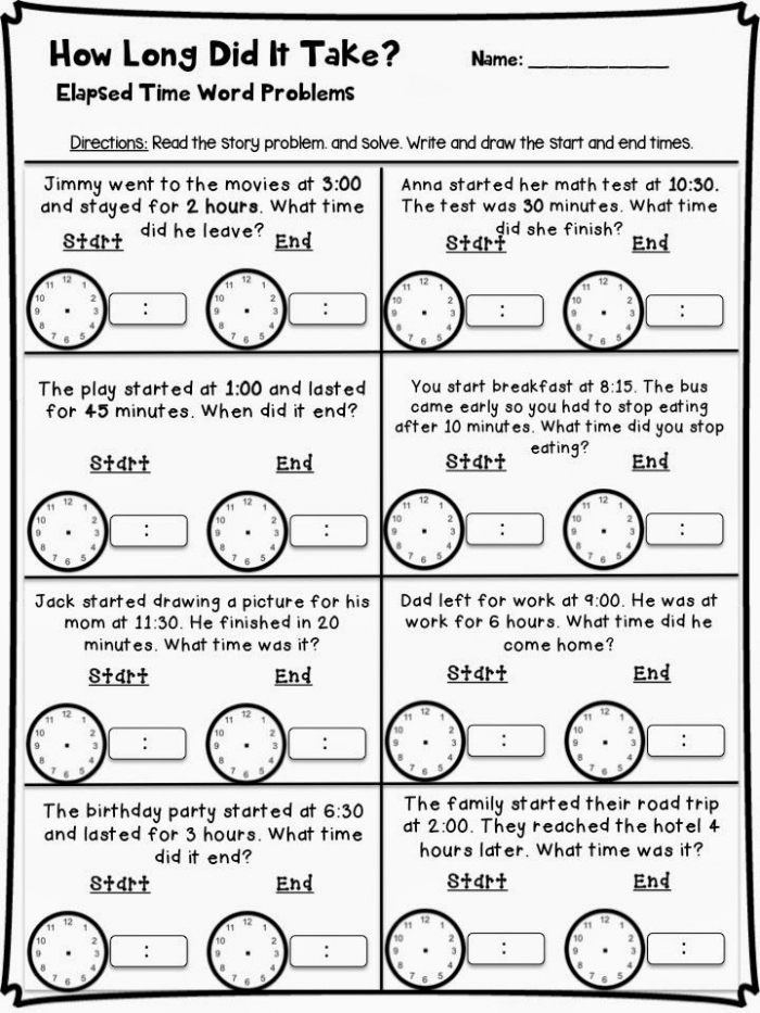 Telling Time Craftivity And Resources