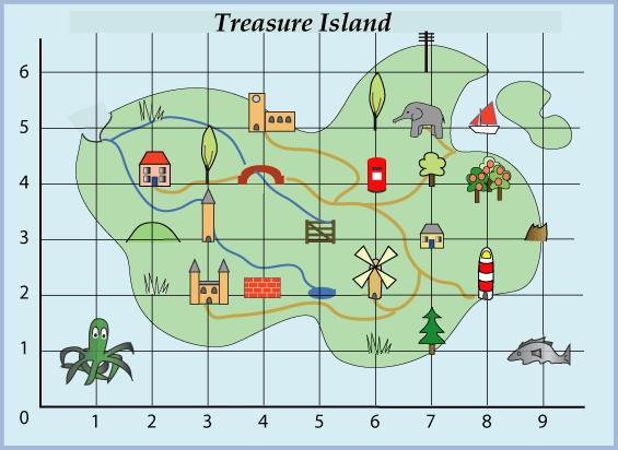 Treasure Island  Nrichmathsorg