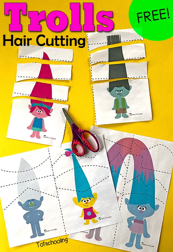 Trolls Hair Cutting Pack