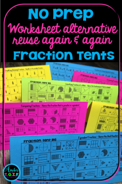 Fractions Learning Check