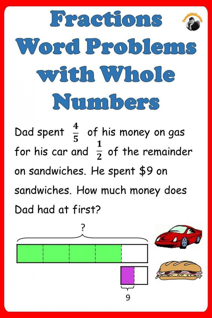 Fractions Worksheets Th Th Grade