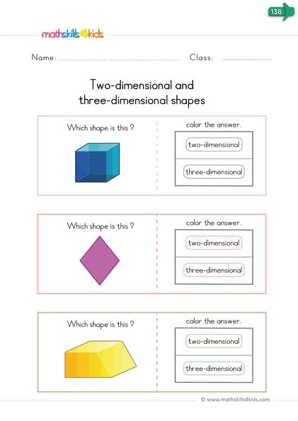 Free Printable D Shapes Worksheets For Kindergarten