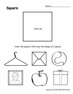 Find The Shapes: Squares