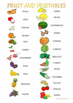 Fruit And Veggies Are…