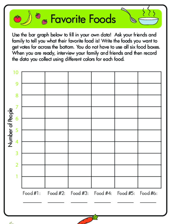Graphing Data Tally Marks And Bar Graphs