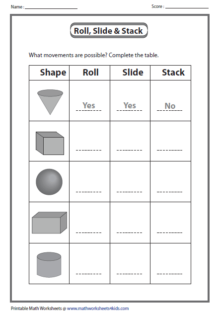 Help Your Child Practice His Spatial Perception With This