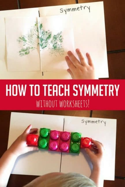 How To Teach Symmetry Without Worksheets