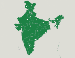 Map Of India: States, Union Territories, And Capitals
