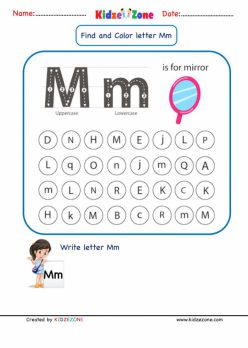 Learning The Letter M