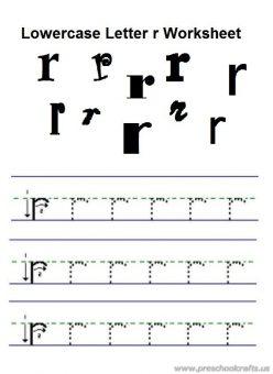 Alphabet Practice: R