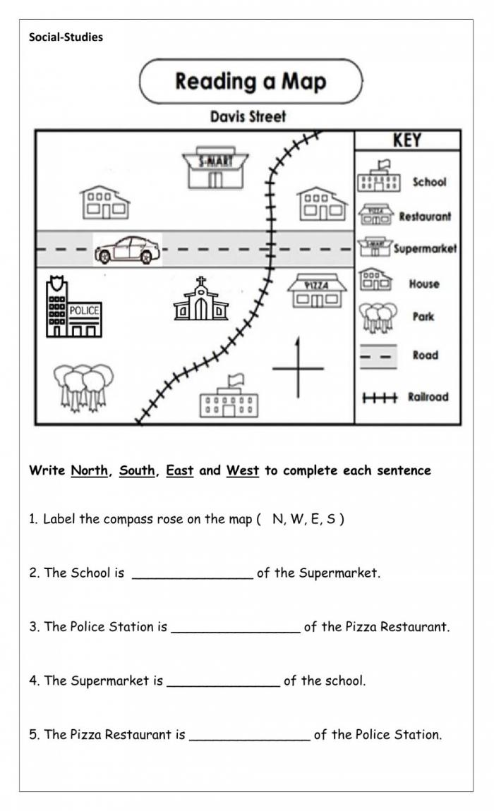 Map Community Worksheet
