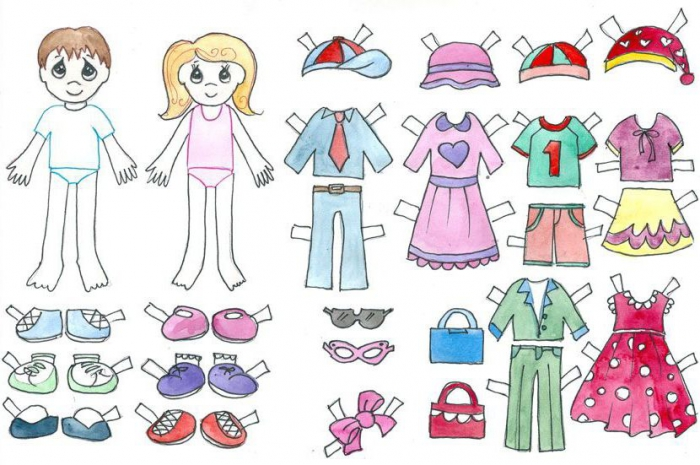Paper Doll Template