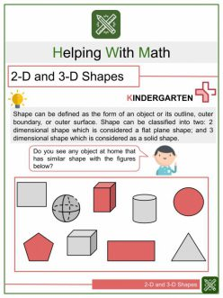 Shape Dimensions: Solid Figures