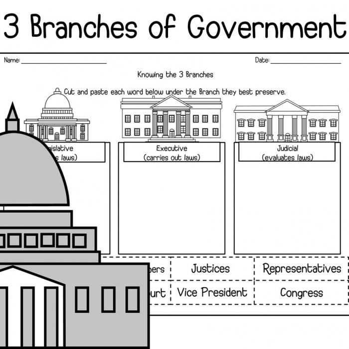 Teacherstradingcom  Branches Of Usa Government
