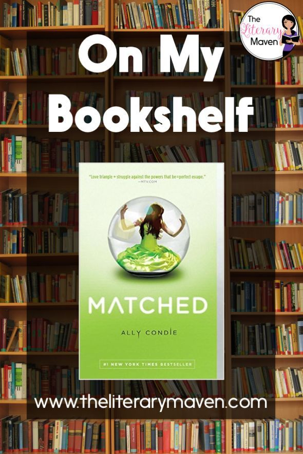 The Literary Maven On My Bookshelf Matched By Ally Condie