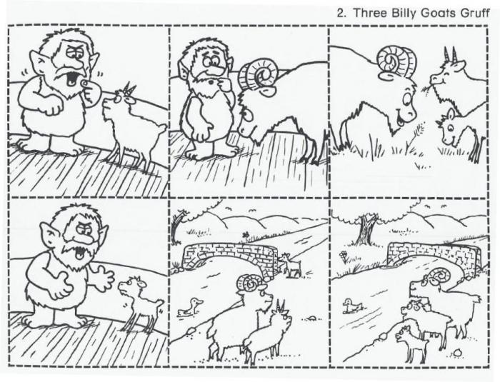 Three Billy Goats Gruff Year  Ideas