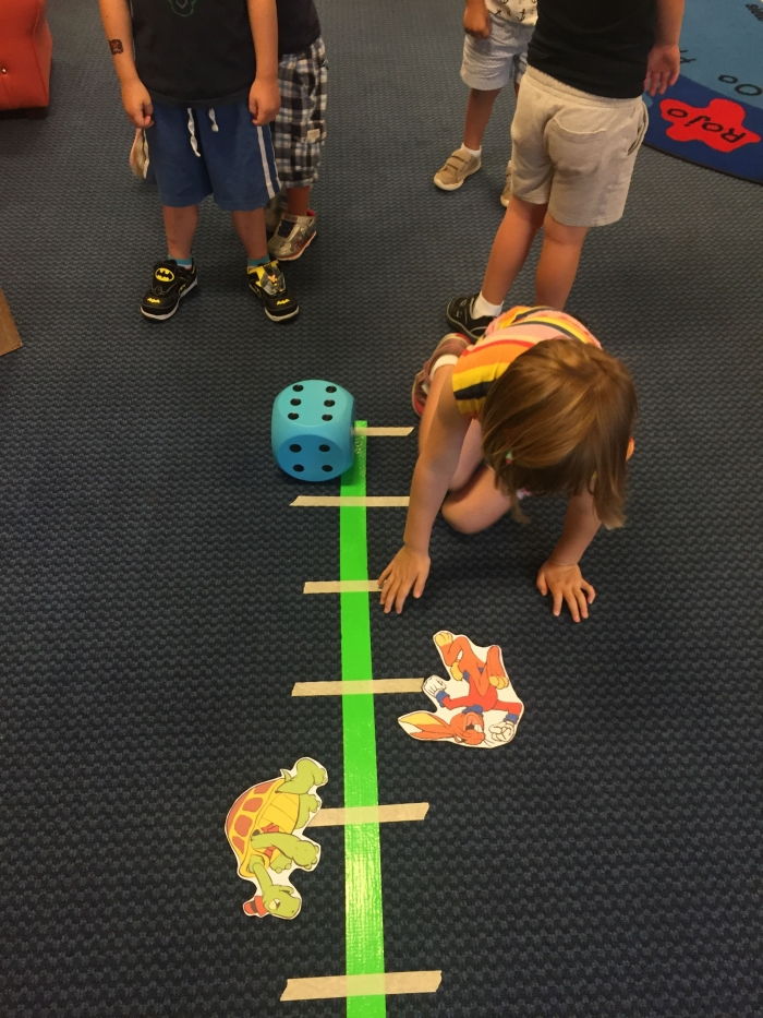 Tortoise And The Hare Activity Separate The Class Into Two Teams