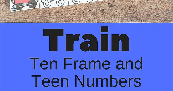 Train Number Games And Worksheets For Kindergarten