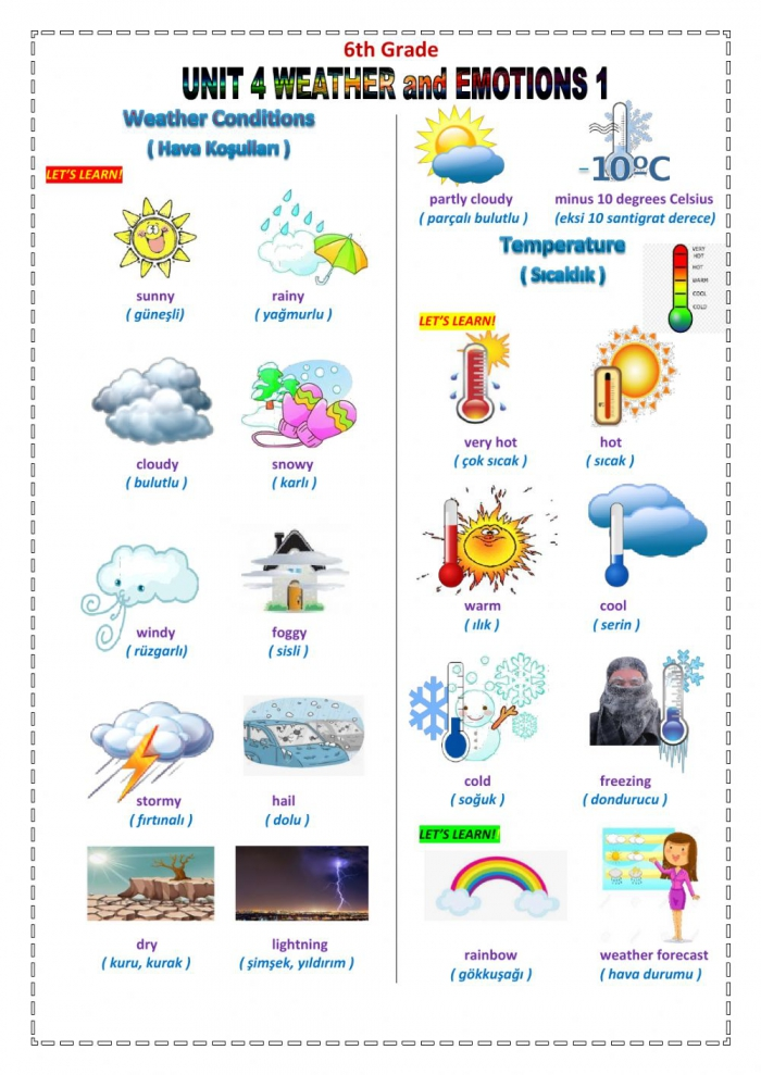 Weather And Emotions