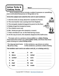 Helping Vs. Linking Verbs