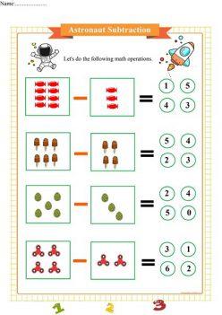 Astronaut Math