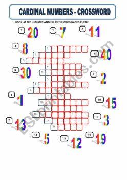 Number Crossword