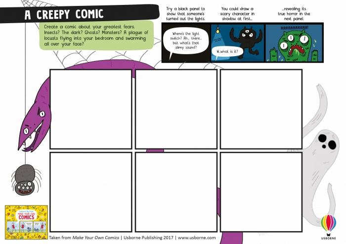 Comics Worksheets  Comics Club