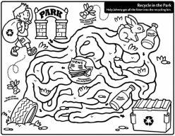 Eco-Friendly Maze: Recycle