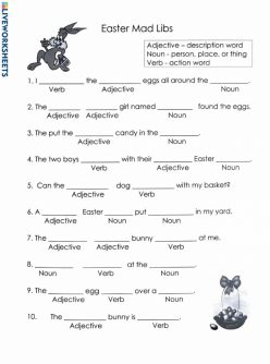 Easter Noun And Adjectives #2