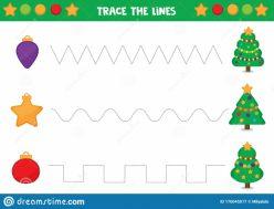Tracing Lines: Christmas
