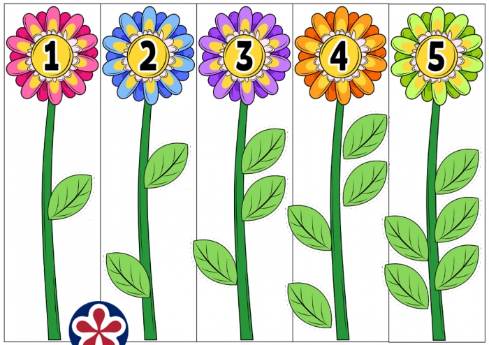 Flower Leaf Counting Activity For Young Students Teachersmagcom