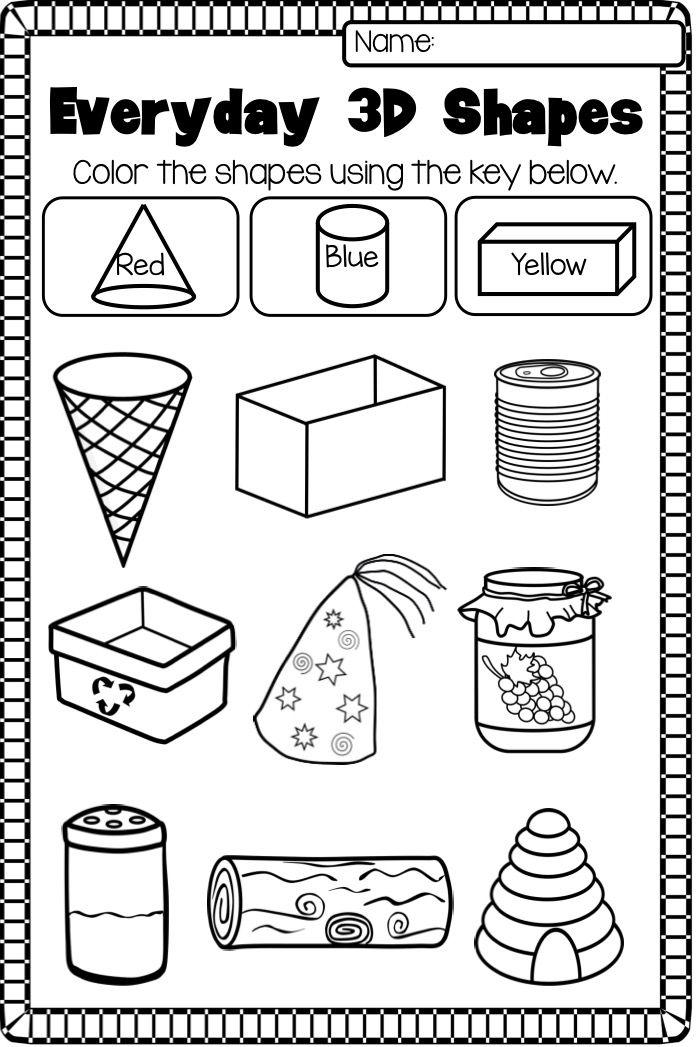 Free Shapes Worksheets Photo Ideas And Worksheet Pack Noep