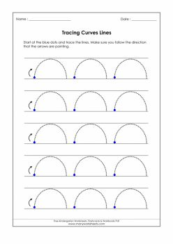 Tracing Curved Lines