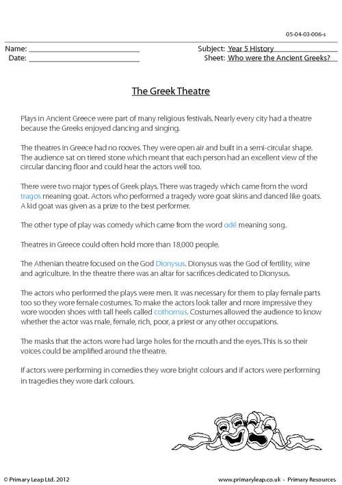 History The Greek Theatre